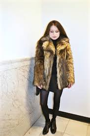 faux fur fancy coat asos