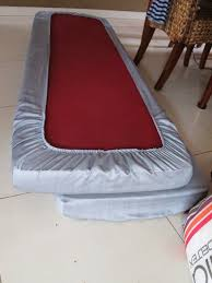 couch cushion covers not quite seasoned but very well salted making easy cushion covers