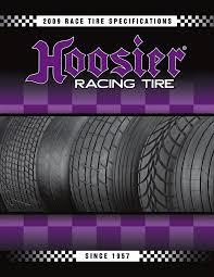 Hoosier Tyre Compound Chart Hoosier Racing Tire Catalogue Pdf Document