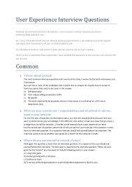 Ui Designing Interview Questions User Experience Interview Questions Interview Questions