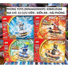 Lắp ráp xếp hình lego ninjago lốc xoáy 99579: Ninja con quay lốc xoáy 94  chi tiết, Giá tháng 1/2021