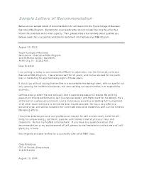 college admissions letter of recommendation sample how to request a strong letter of recommendation from sample