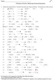 appealing chemistry if8766 balancing chemical equations answer key jennarocca worksheet word chapter 10 nuclear reaction workshe