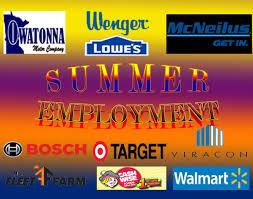 Summer Jobs Summer Jobs Magnet
