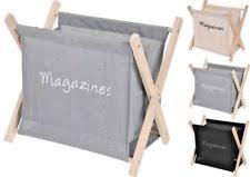 Fabric Magazine Holder Magazine Racks eBay 88