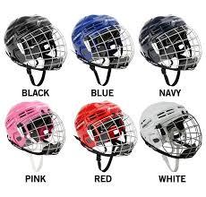 Bauer 2100 Helmet Size Chart Bauer Ims 5 0 Hockey Helmet Combo Helmets Combo Hockey