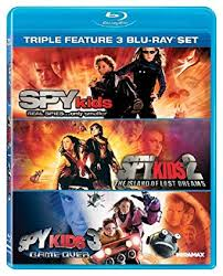 spy kids triple feature blu ray