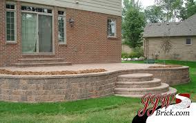 brick paver patio patterns. Plain Paver Paver Patio Design Shelby Twp MI On Brick Patterns