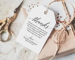thank you tags for wedding favors thank you tag wedding thank you tags gift tags wedding favor