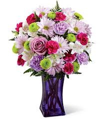 ftd purple pop bouquet