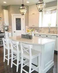Farmhouse kitchens Black and white pendants and Modern farmhouse