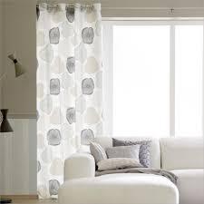 Schlafzimmer Vorhänge Blickdicht Vorhang Grau Blickdicht