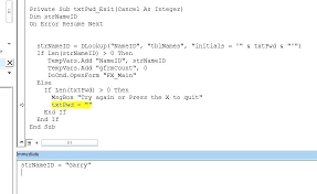 Excel Vba On Error Resume Next Awesome On Error Resume Next For Your