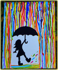 exterior, Lovely Picture Desaign Ideas For Canvas With Litle Girl Bring  Umbrella And Wear Boot