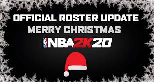NBA 2K20 Official Roster Update 12.25 ...