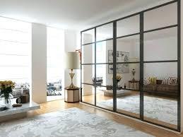mirrored wardrobe doors sliding bathroom contemporary mirror closet door makeover or ored cl