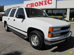 1997 Summit White Chevrolet Suburban C1500 LT #47157409 | GTCarLot ...