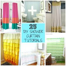 make your own shower curtain shower curtain sizes cm