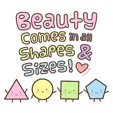 Beauty Comes In All Shapes And Sizes Quotes Best of Beauty Comes In All Shapes And Sizes Doodle Quote Photographic