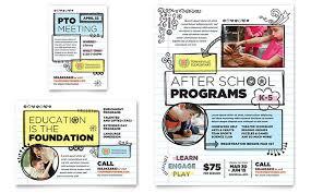 Preschool & Kindergarten Flyers | Templates & Graphic Designs