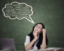 outstanding benefits of being bilingual and achieving success teenage girl learning foreign languages