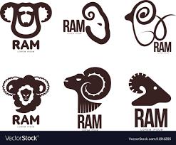 ram logo vector. Fine Vector Set Of Ram Sheep Lamb Head Graphic Logo Vector Image Intended Ram Logo Vector T