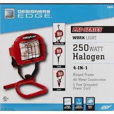 Designers Edge Farm Light Designers Edge 4000 Lm Halogen S Tube Portable Work Light