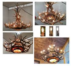 73 most fantastic brilliant antler chandelier menards outstanding deer with additional cabin chandeliers of otbsiu vanity