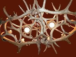 one other image of deer antler chandelier faux diy kit deer diy antler chandelier