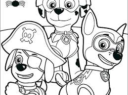 Paw Patrol Everest Printable Coloring Pages Stunning Paw Print