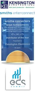 kensington electronics specializing in smiths interconnect news fischer award 2014
