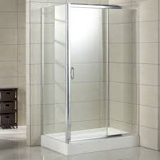 Corner shower stalls Curved Image Of Bathroom Square Corner Shower Enclosure With Grey Tiled Wall Pertaining To Acrylic Shower The Wooden Houses Acrylic Shower Stalls Being The Best Choice The Wooden Houses