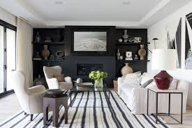 If you're looking to create a strong focal point in a room, you should consider painting an accent wall with black paint! Black Wall Deacor