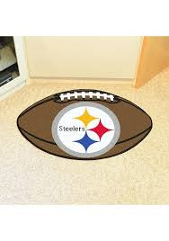 football interior rug pittsburgh steelers bathroom rugs