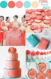 Coral Color Combinations 112 Best Wedding Colour Scheme Images On Pinterest Marriage