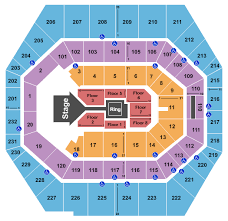 Allstate Arena Seating Chart Wwe Wwe
