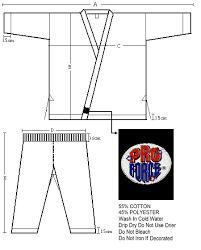 Details About Martial Arts Karate Uniform Gi Lightweight Student White Black Blue Red