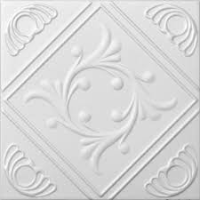 Decorative Ceiling Tiles Uk Faux Ceiling Tile 60x60 Anet White Foam Amazoncouk DIY Tools 22