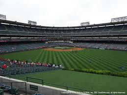 Angel Stadium Of Anaheim View From Right Field Pavilion 249