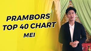 Prambors Top 40 Chart Mei