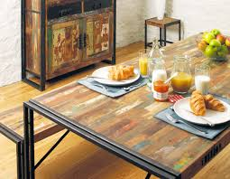 Industrial Kitchen Table Furniture Virtuous Industrial Dining Table Modern Wood Furniture And Photos