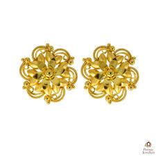 Gold New Design Tops Delicate Flower Designer Facny Golden Tops