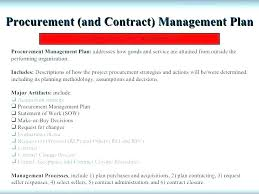 Letter To Terminate Contract With Supplier 7 8 Project Procurement Management Plan Template Contract
