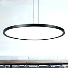 circular lighting circular led light modern office lighting hanging lamp thin dining room minimalist living pendant circular lighting