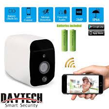 <b>DAYTECH Wireless IP Camera</b> Outdoor 2MP Battery Camera 1080P ...