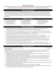 Operations Management Resume Samples Best Operations Manager Resume