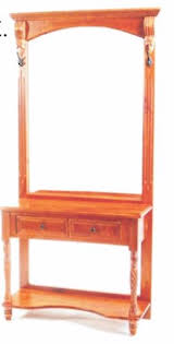 hall stand table. Wesley Dressing Hall Stand - Small Table
