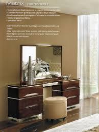 Mirrored Bedroom Dressers Modern Vanity Dresser With Mirror