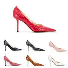 Footwear Designer Jimmy Top Quality Designer Jimmy Women Choo Love85 Shoes Jc Luxury Leather High Heel Red Heels Bridal Wedding Shoesca30 Mens Sneakers High Heels From
