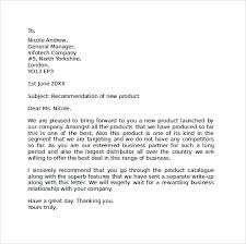 Business Letter Sample Word Sample Standard Business Letter Format 7 Free Documents In